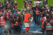 Österreich - Liechtenstein - Ernst Happel Stadion - Mo 12.10.2015 - Bierdusche f�r Marcel KOLLER119