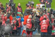 Österreich - Liechtenstein - Ernst Happel Stadion - Mo 12.10.2015 - Bierdusche f�r Marcel KOLLER121