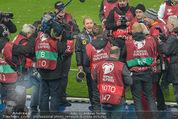 Österreich - Liechtenstein - Ernst Happel Stadion - Mo 12.10.2015 - Bierdusche f�r Marcel KOLLER122