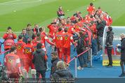 Österreich - Liechtenstein - Ernst Happel Stadion - Mo 12.10.2015 - Spalier der Fanclubleiter f�r das Nationalteam13