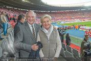 Österreich - Liechtenstein - Ernst Happel Stadion - Mo 12.10.2015 - Erwin und Elisabeth Sissi PR�LL35