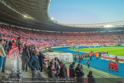 Österreich - Liechtenstein - Ernst Happel Stadion - Mo 12.10.2015 - Stadion, Zuschauer, Atmosph�re, Stimmung, Publikum, G�ste4