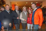 Österreich - Liechtenstein - Ernst Happel Stadion - Mo 12.10.2015 - Richard GRASL, Erwinund Sissi PR�LL, Christian RAINER mit Lola42