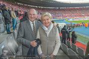 Österreich - Liechtenstein - Ernst Happel Stadion - Mo 12.10.2015 - Erwin und Elisabeth Sissi PR�LL5