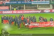 Österreich - Liechtenstein - Ernst Happel Stadion - Mo 12.10.2015 - Team Nationalmannschaft bei der Ehrenrunde53