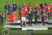 Österreich - Liechtenstein - Ernst Happel Stadion - Mo 12.10.2015 - Ehrung der Spieler am Podest, Feier, Party62
