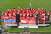 Österreich - Liechtenstein - Ernst Happel Stadion - Mo 12.10.2015 - Ehrung der Spieler am Podest, Feier, Party66