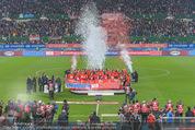 Österreich - Liechtenstein - Ernst Happel Stadion - Mo 12.10.2015 - Ehrung der Spieler am Podest, Feier, Party69