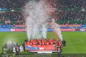 Österreich - Liechtenstein - Ernst Happel Stadion - Mo 12.10.2015 - Ehrung der Spieler am Podest, Feier, Party70
