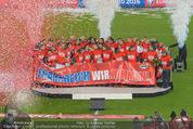Österreich - Liechtenstein - Ernst Happel Stadion - Mo 12.10.2015 - Ehrung der Spieler am Podest, Feier, Party74