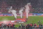 Österreich - Liechtenstein - Ernst Happel Stadion - Mo 12.10.2015 - Ehrung der Spieler am Podest, Feier, Party76