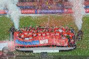 Österreich - Liechtenstein - Ernst Happel Stadion - Mo 12.10.2015 - Ehrung der Spieler am Podest, Feier, Party77
