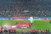Österreich - Liechtenstein - Ernst Happel Stadion - Mo 12.10.2015 - Ehrung der Spieler am Podest, Feier, Party78