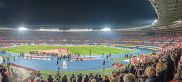 Österreich - Liechtenstein - Ernst Happel Stadion - Mo 12.10.2015 - Panorama Stadion, Zuschauer, Stimmung, Publikum, Feier80