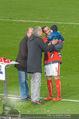 Österreich - Liechtenstein - Ernst Happel Stadion - Mo 12.10.2015 - Herbert PROHASKA, Rainer PARIASEK, Christian FUCHS mit Baby87