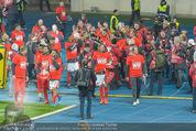 Österreich - Liechtenstein - Ernst Happel Stadion - Mo 12.10.2015 - Team bedankt sich beim Publikum, Ehrenrunde93
