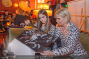 Baumann Kalenderpräsentation - Eden Bar - Mi 14.10.2015 - Claudia EFFENBERG mit Tochter Lucia46