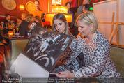Baumann Kalenderpräsentation - Eden Bar - Mi 14.10.2015 - Claudia EFFENBERG mit Tochter Lucia47