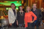 Viennale Cocktail - Hotel Intercontinental - Mi 14.10.2015 - Michael TOJNER, Hans HURCH, Daniela ENZI, Brigitte TRATTNER20