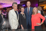 Viennale Cocktail - Hotel Intercontinental - Mi 14.10.2015 - Michael TOJNER, Daniela ENZI, Brigitte TRATTNER, A. M. POKORNY29