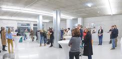 Pferd Kunstraum Opening - base11 - Di 20.10.2015 - 28