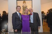 Klimt-Schiele-Kokoschka Ausstellung - Belvedere - Mi 21.10.2015 - Josef OSTERMAYER, Agnes HUSSLEIN, Eric KANDEL109