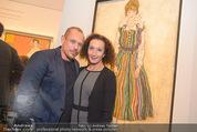 Klimt-Schiele-Kokoschka Ausstellung - Belvedere - Mi 21.10.2015 - Gery KESZLER, Konstanze BREITEBNER116