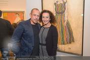 Klimt-Schiele-Kokoschka Ausstellung - Belvedere - Mi 21.10.2015 - Gery KESZLER, Konstanze BREITEBNER117