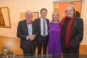 Klimt-Schiele-Kokoschka Ausstellung - Belvedere - Mi 21.10.2015 - Josef OSTERMAYER, Agnes HUSSLEIN, Eric KANDEL, Paulus MANKER122
