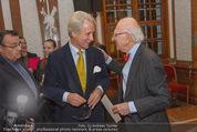 Klimt-Schiele-Kokoschka Ausstellung - Belvedere - Mi 21.10.2015 - Peter HUSSLEIN, Eric KANDEL2
