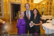 Klimt-Schiele-Kokoschka Ausstellung - Belvedere - Mi 21.10.2015 - Agnes HUSSLEIN, Oliver STAMM mit Ehefrau Caro36