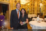 Klimt-Schiele-Kokoschka Ausstellung - Belvedere - Mi 21.10.2015 - Oliver STAMM mit Ehefrau Caro37