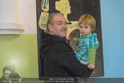 Sarah Connor Besuch - Ronald McDonald Kinderhilfehaus - Do 22.10.2015 - Rudi HOLDHAUS mit Elias11
