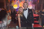 Ronald McDonald Gala - Marx Halle - Do 22.10.2015 - Leo HILLINGER mit Ehefrau Evelyn100