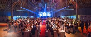 Ronald McDonald Gala - Marx Halle - Do 22.10.2015 - Panorama, Saalfoto, �bersicht, G�ste, Dinner, Publikum3