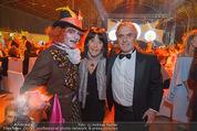 Ronald McDonald Gala - Marx Halle - Do 22.10.2015 - Hans HUBER mit Ehefrau316