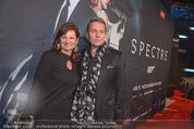 James Bond Spectre Kinopremiere - Cineplexx Wienerberg - Mi 28.10.2015 - Alfons HAIDER, Susanne RIESS29