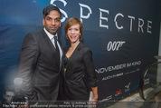 James Bond Spectre Kinopremiere - Cineplexx Wienerberg - Mi 28.10.2015 - Ramesh NAIR mit Begleitung41