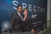 James Bond Spectre Kinopremiere - Cineplexx Wienerberg - Mi 28.10.2015 - Ramesh NAIR mit Begleitung42