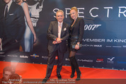 James Bond Spectre Kinopremiere - Cineplexx Wienerberg - Mi 28.10.2015 - Christian und Ekaterina MUCHA53