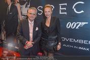 James Bond Spectre Kinopremiere - Cineplexx Wienerberg - Mi 28.10.2015 - Christian und Ekaterina MUCHA55