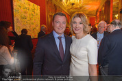 Signa Törggelen - Palais Harrach - Do 12.11.2015 - Markus FRIESACHER mit Ehefrau36