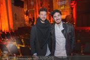 Electric Church - Stephansdom - Fr 13.11.2015 - Ilan und Nuriel MOLCHO8