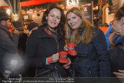 Heute Charitypunsch - Christkindlmarkt Stephansplatz - So 15.11.2015 - Anelia PESCHEV, Martina KAISER10