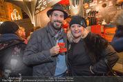 Heute Charitypunsch - Christkindlmarkt Stephansplatz - So 15.11.2015 - Clemens UNTERREINER, Marika LICHTER14