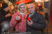 Heute Charitypunsch - Christkindlmarkt Stephansplatz - So 15.11.2015 - Tine KALTENECKER, Christoph F�LBL16