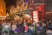 Heute Charitypunsch - Christkindlmarkt Stephansplatz - So 15.11.2015 - Punschstand17