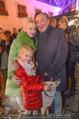 Heute Charitypunsch - Christkindlmarkt Stephansplatz - So 15.11.2015 - Richard LUGNER mit Ehefrau Cathy und Tochter Leonie19
