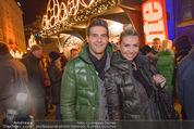 Heute Charitypunsch - Christkindlmarkt Stephansplatz - So 15.11.2015 - Norbert OBERHAUSER, Cathy ZIMMERMANN2