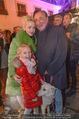 Heute Charitypunsch - Christkindlmarkt Stephansplatz - So 15.11.2015 - Richard LUGNER mit Ehefrau Cathy und Tochter Leonie20
